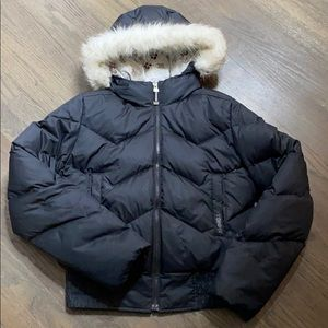 Tommy Jeans Down Puffer Hooded Parka Jacket Black